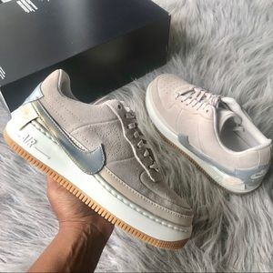 Nike Air Force 1 Jester Low Wmns sz 9 desert sand